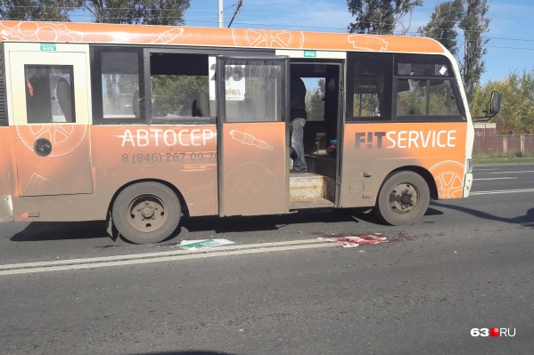 Пассажиру маршрутки не повезло оказаться у окна