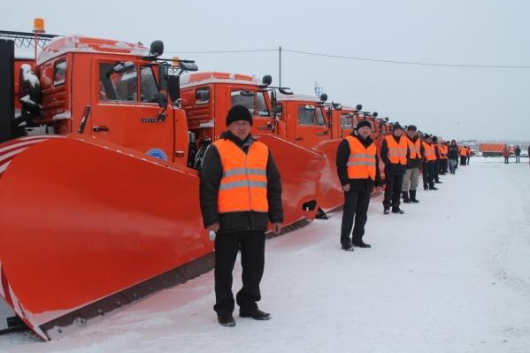 Ключи от спецтехники получили 19 водителей «Башкиравтодора»