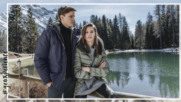 Итальянский бренд Geox представил стильные пуховики для холодов