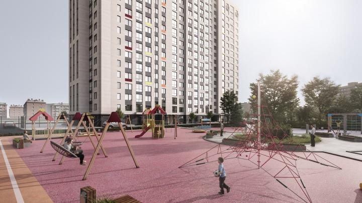 Апгрейд левого берега: в семейной новостройке бизнес-класса продают квартиры от 1 305 000 рублей