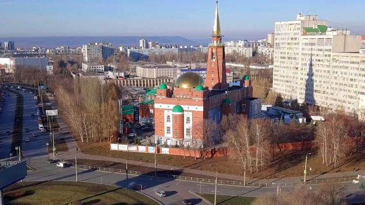 С высоты минарета: показываем Самарскую Соборную мечеть в деталях