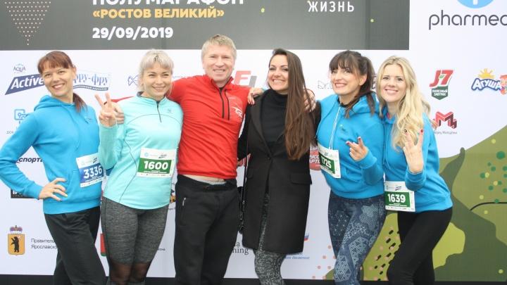 Сотрудники «ТНС энерго Ярославль» преодолели дистанции полумарафона «Ростов Великий»