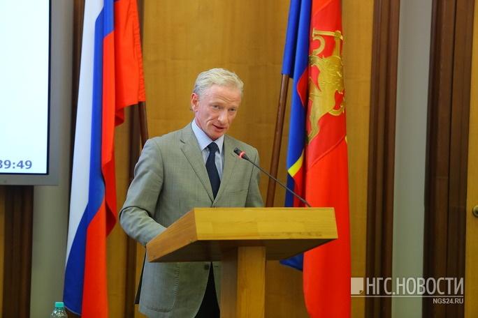 Кандидат от КПРФ Андрей Худоногов