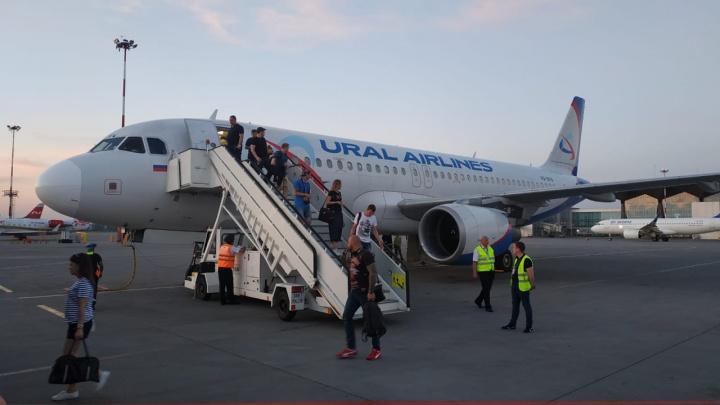 «Шасси не закрылись»: самолёт, вылетевший в Екатеринбург из Питера, экстренно вернулся в аэропорт