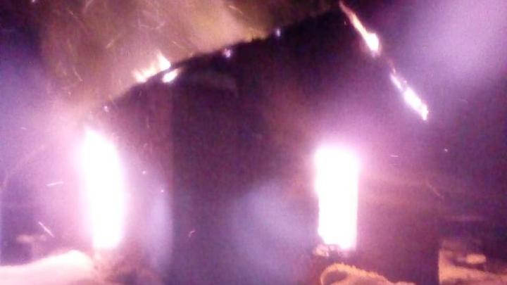 В Башкирии в пожаре погиб мужчина