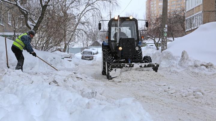 Убирайте ваших «ласточек»: какие дворы в Уфе расчистят от снега 9 февраля