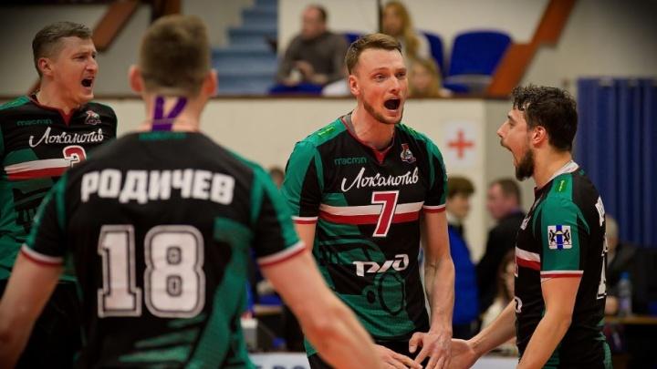 Новосибирские волейболисты обыграли команду из Барнаула на этапе Кубка России