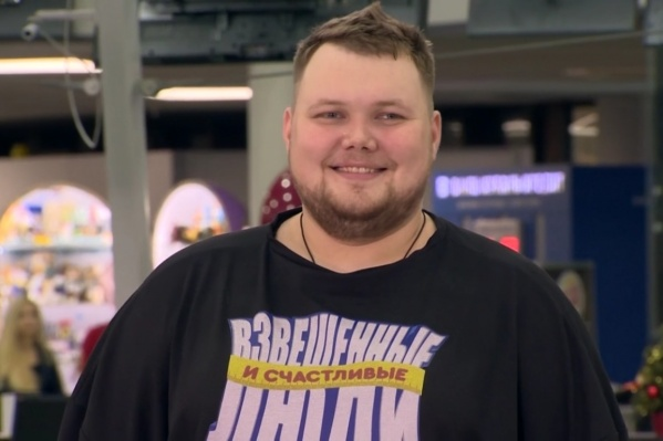Вес Антона на первом взвешивании на шоу составил 167 кг