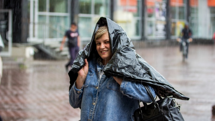 Готовим зонтики: в Новосибирск придут ливни с порывистым ветром