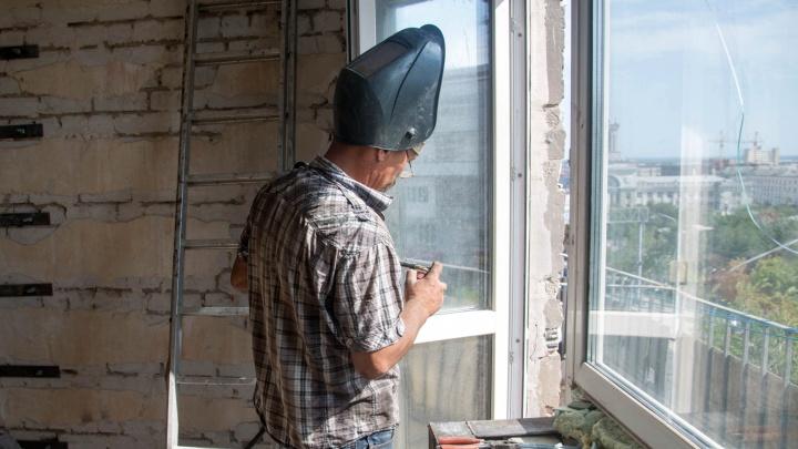 Жильцы «заштопанного» дома на улице Невской в Волгограде мечтают о спокойной жизни