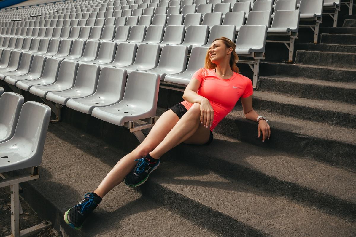 Наталья участвовала в Московском международном марафоне и планирует это повторить
