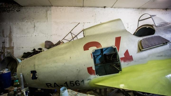 Починят — и в небо: новосибирские мастера восстановят истребитель Великой Отечественной войны