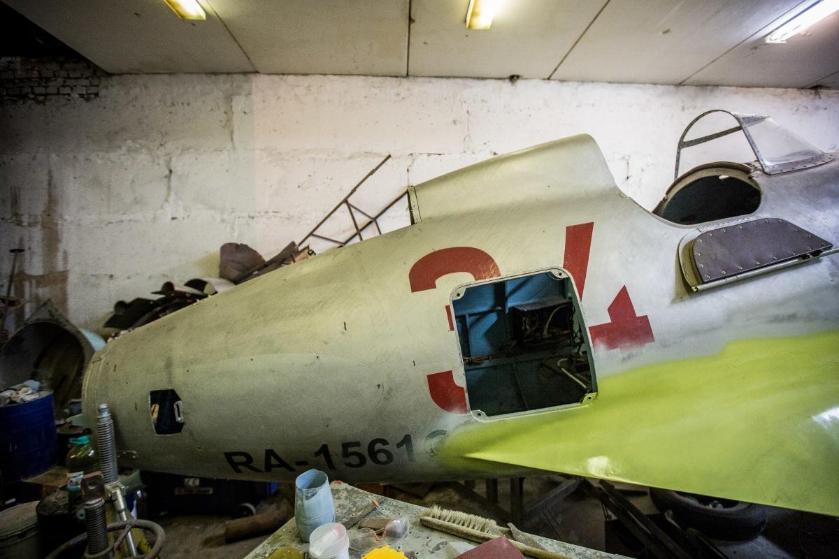 Новосибирцы ремонтируют этот самолёт уже второй раз