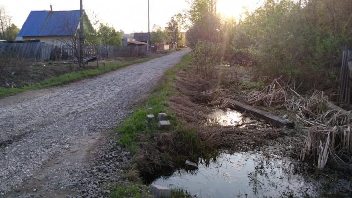 «Оступился и упал»: в Чусовом мужчина утонул в канаве