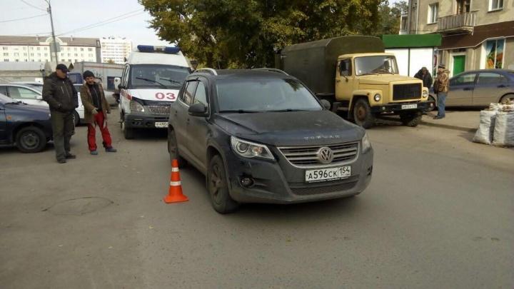 Volkswagen сбил мальчика,перебегавшего дорогу у Ленинского рынка