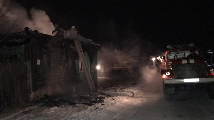 «Загорелась ёлочная гирлянда»: на пожаре под Челябинском погибли инвалид, его дочь и семилетний внук