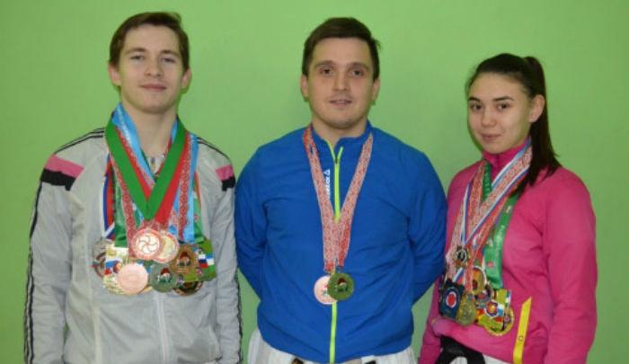 Башкирские спортсмены победили на чемпионате мира по карате