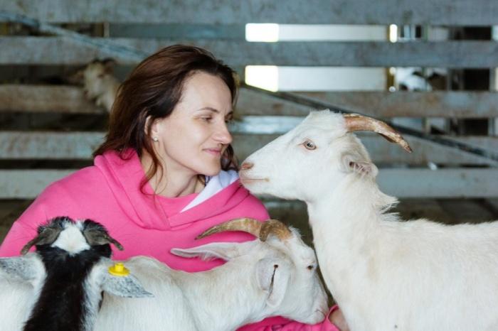 Светлана Корабель сумела защитить свои права на изображение козы