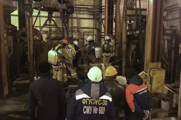 Пожар произошелвстроящемся стволе рудника «Соликамск-3»
