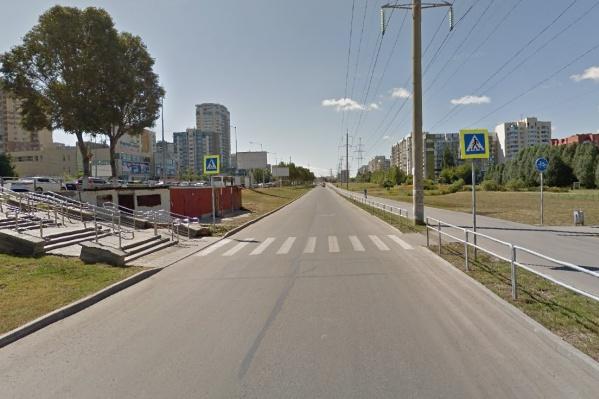 ДТП произошло на дороге-дублёре Ново-Садовой