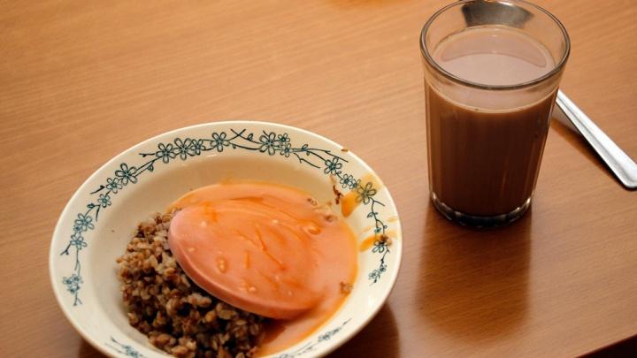 Гречка с колбасой, запеканка и йогурт: смотрим, чем кормят детей в школьных столовых Омска