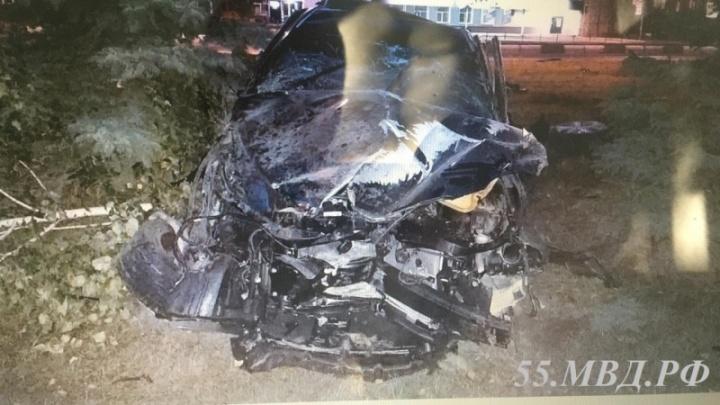 Омич угнал и разбил «Тойоту» своего родственника в первый же день после покупки