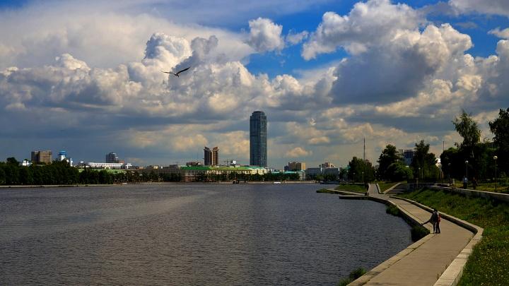 В начале недели Екатеринбургу обещали жару и грозы с порывистым ветром