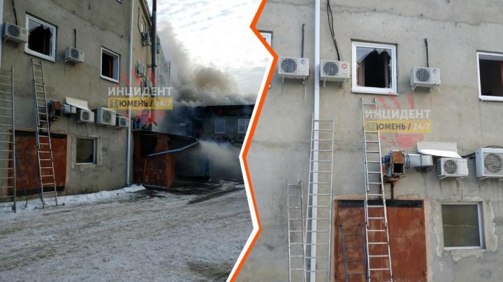 Разбили окно, спасая людей: в пожаре на Молодежной пострадал человек