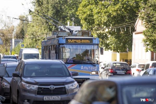 Оптимизация транспорта в Ярославле продолжается