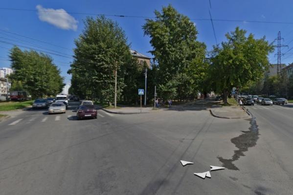 Перекрёсток ул. Ватутина и Котовского