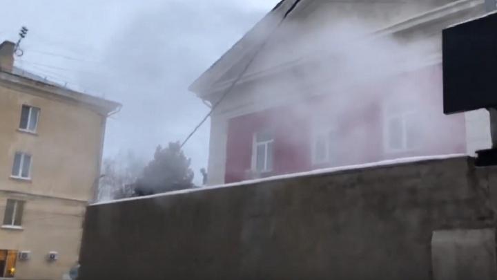 Волгоградская аномалия: между Сурскими банями и ЛОФТ1890 поселилось белое коммунальное облако