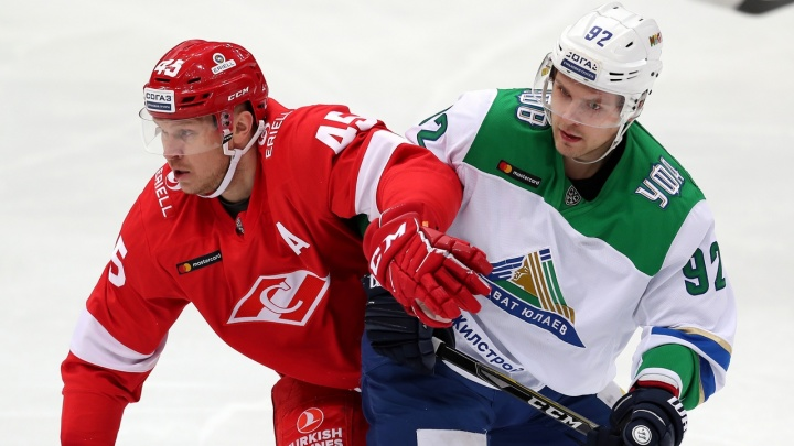 Согнуть пополам: «Салават Юлавев» примет на льду «Уфа-Арены» череповецкую «Северсталь»
