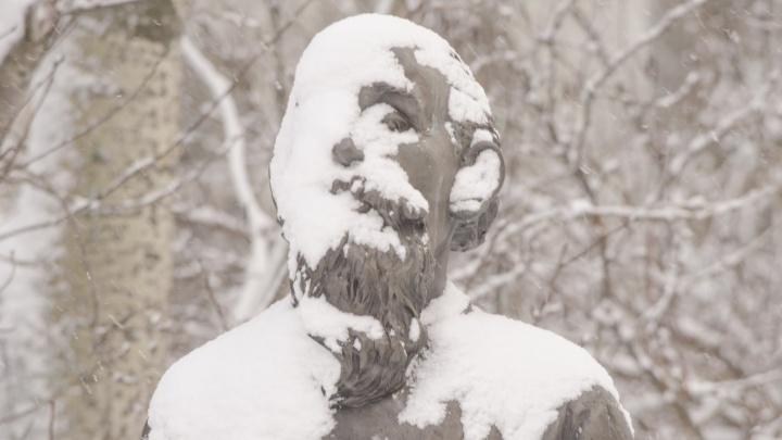 Вжух — и замело! Фотографии Архангельска, который завалило снегом