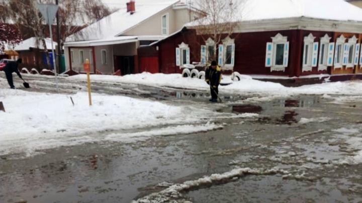 В Омске произошёл третий коммунальный потоп за неделю