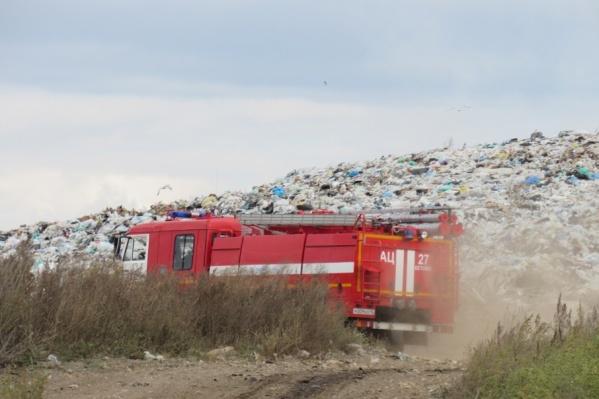 Смог возник из-за пожара на Шуховском полигоне, посчитала природоохранная прокуратура