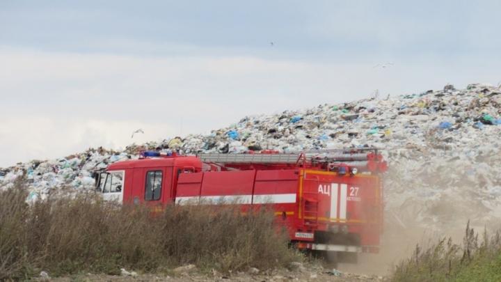 Шуховский полигон оштрафовали за вред природе и смог над Курганом