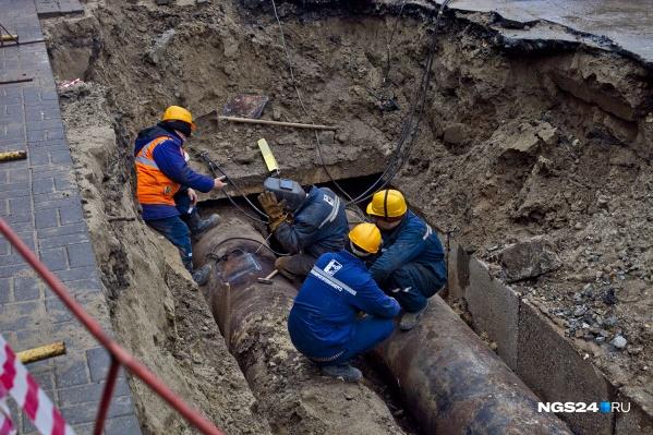 Рабочие снова повредили сети
