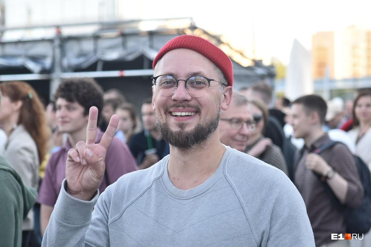 Радиоведущий Александр Цариков