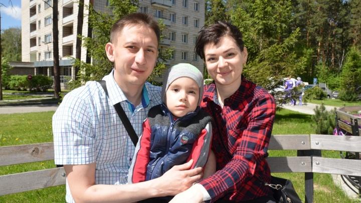 Новосибирские врачи нашли у мальчика в голове опухоль размером с яйцо