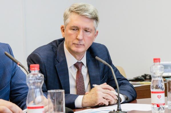 Начальник отдела железнодорожного транспорта Минтранса Пермского края Сергей Козьминых