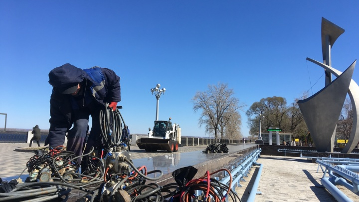 С подсветкой и музыкой: фонтаны в Самаре запустят уже 20 апреля