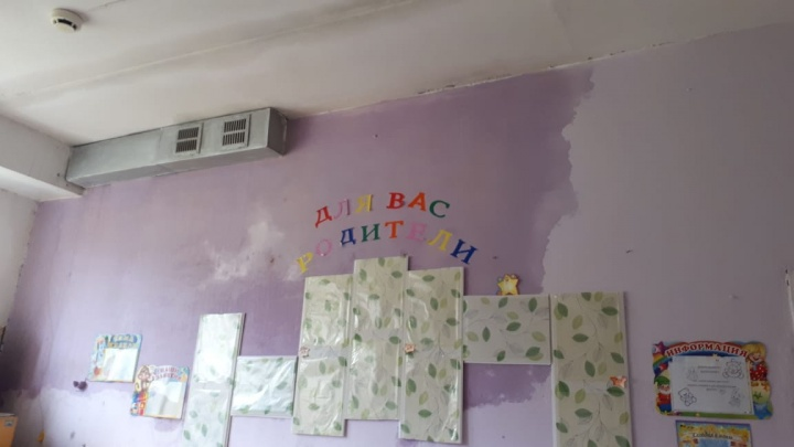 В Прикамье во время ремонта крыши затопило детский сад