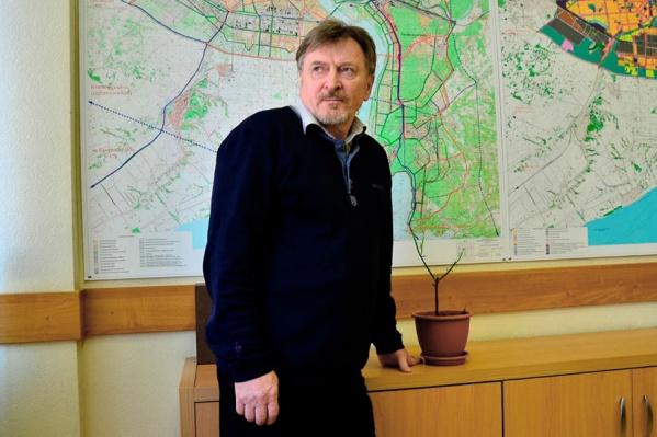 Виктор Тимонов занимал должность главного архитектора города больше трёх лет