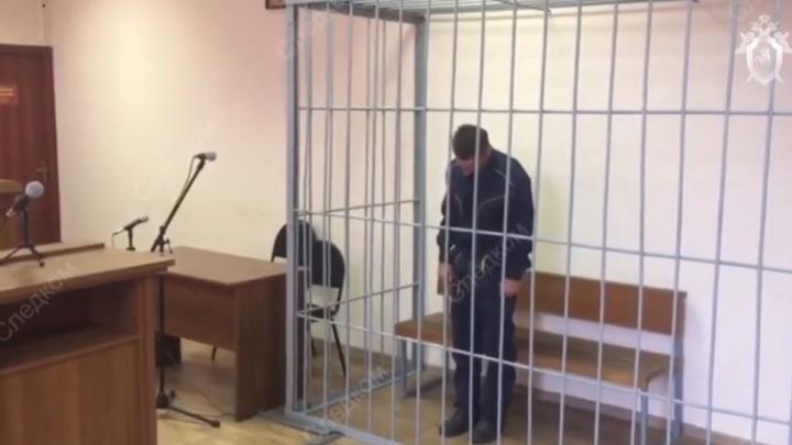 Опубликовано видео ареста убийцы Кристины Пястоловой в Елани: волгоградцы не верят в его показания