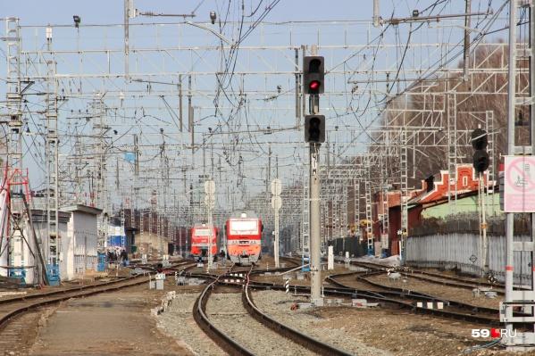 Активисты бьются за то, чтобы электрички продолжали ходить от станцииПермь I
