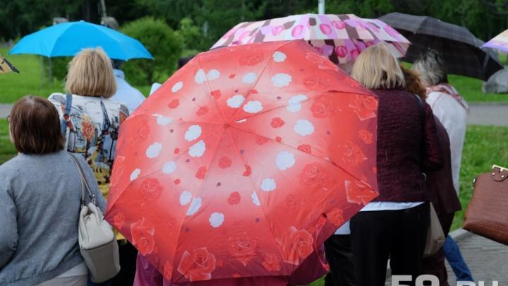 Жители Кунгура платят за дождь. В их платежках появилась новая строка «ОДН за сточные воды»