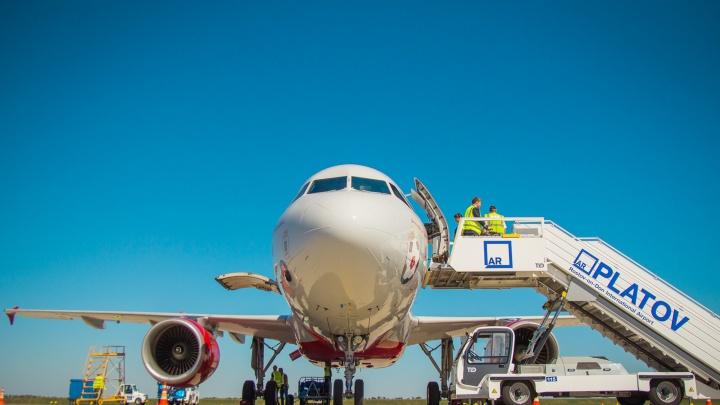 В аэропорту Платов из-за пьяного пассажира пришлось задержать самолет