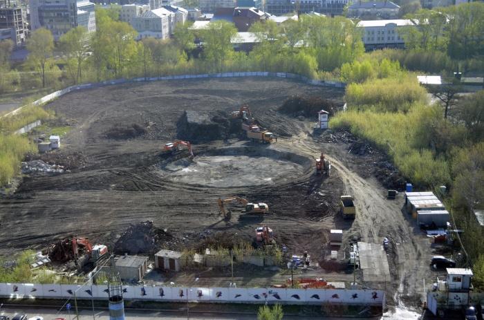 Так выглядит территория бывшей телевышки сейчас