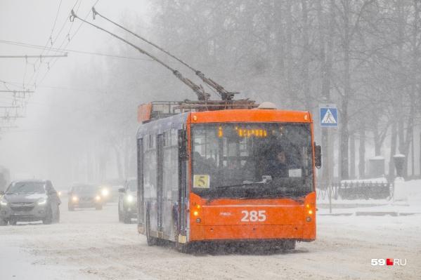 Некоторые троллейбусы отправят в Березники