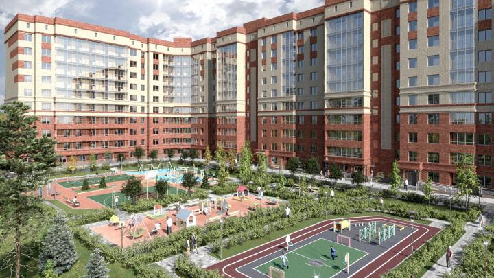 Очередь из семей: в новом жилом комплексе разбирают большие трехкомнатные квартиры